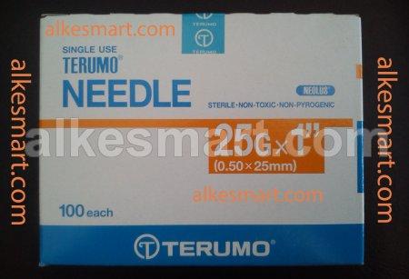 Terumo Needle 25Gx1